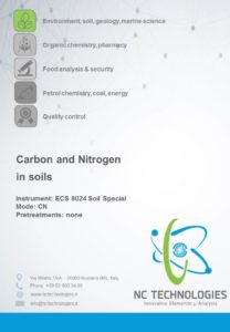 Carbon and nitrogen in soil